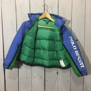 Vintage Polo Puffer Jacket